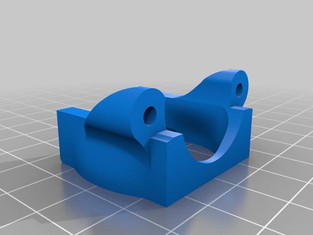 K8200打印机座架 3D模型  图5