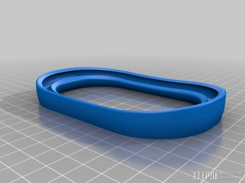 线轴架 线轴座 3D模型  图7