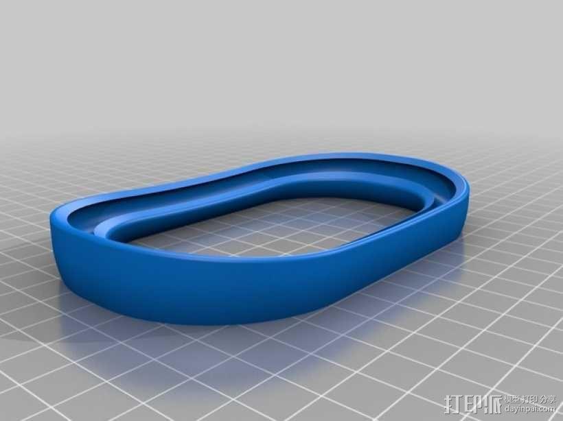 线轴架 线轴座 3D模型  图8
