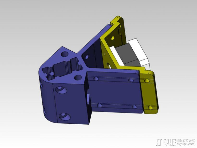 kossel 打印机部件 3D模型  图6