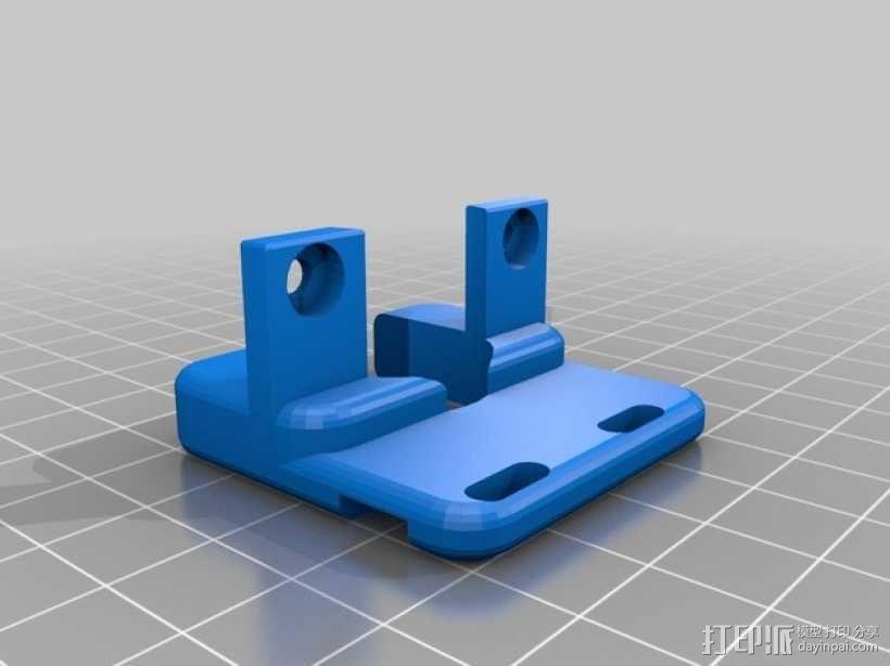 Prusa I3打印机Z轴限位开关 3D模型  图4
