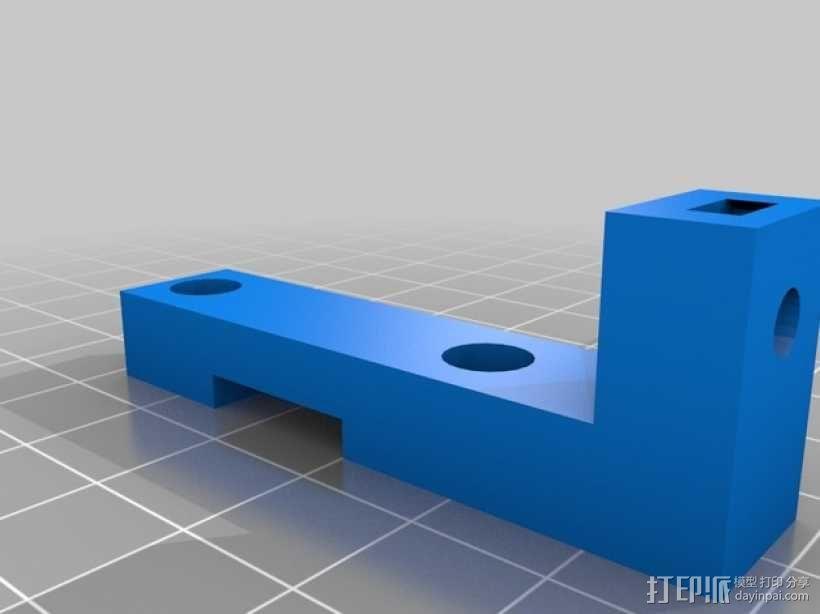 Prusa I3打印机Z轴限位开关 3D模型  图3