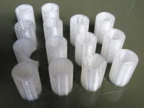 LM8UU 线性轴承 3D模型