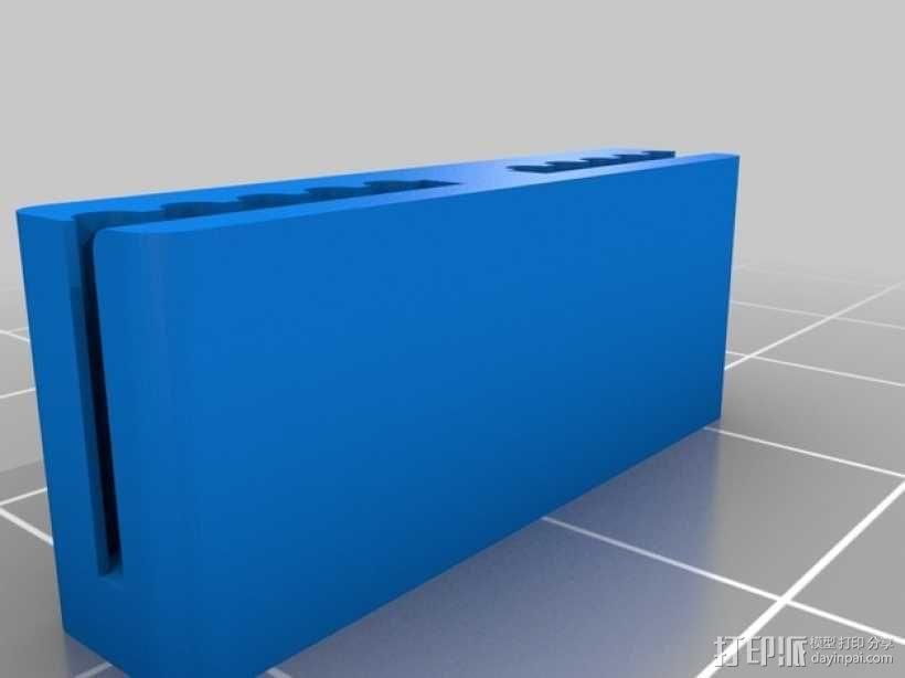 Rostock Mini Pro打印机外框 3D模型  图3