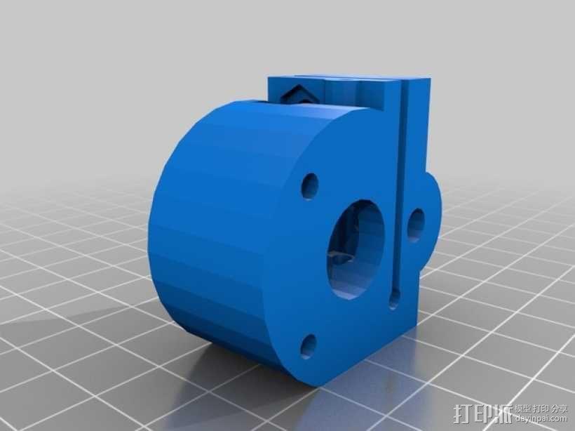 Rostock Mini Pro打印机外框 3D模型  图4