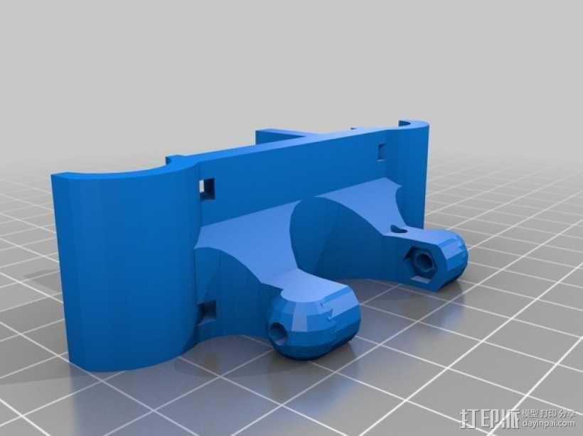 Rostock Mini Pro打印机外框 3D模型  图7
