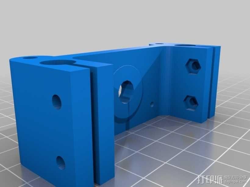 Rostock Mini Pro打印机外框 3D模型  图10