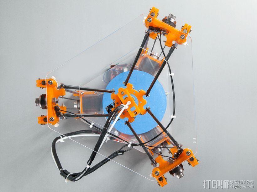 Rostock Mini Pro打印机外框 3D模型  图12
