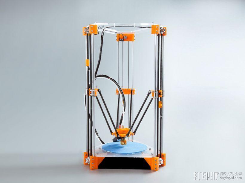 Rostock Mini Pro打印机外框 3D模型  图11