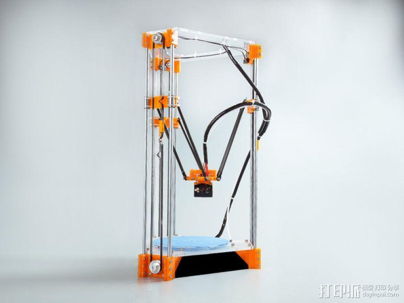Rostock Mini Pro打印机外框 3D模型  图14