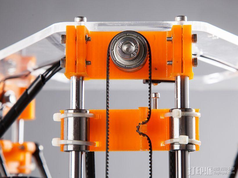 Rostock Mini Pro打印机外框 3D模型  图16