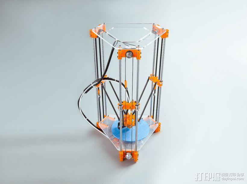 Rostock Mini Pro打印机外框 3D模型  图17