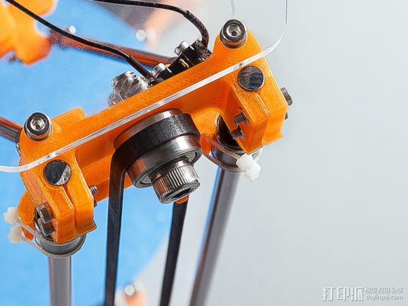 Rostock Mini Pro打印机外框 3D模型  图19