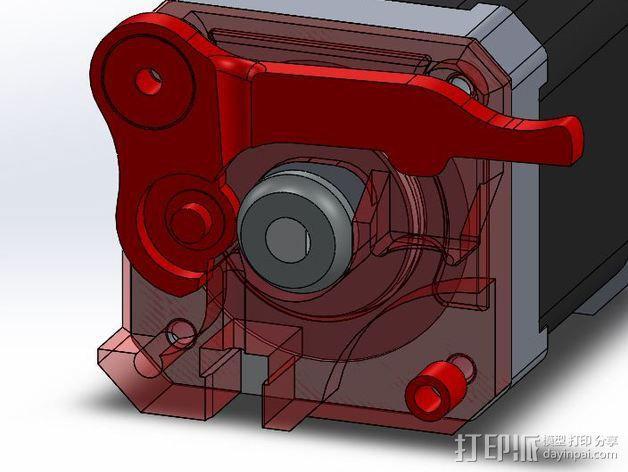 Makibox直线驱动装置 3D模型  图2