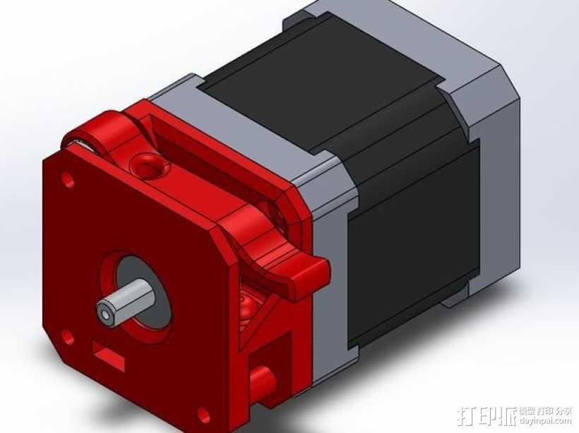 Makibox直线驱动装置 3D模型  图1
