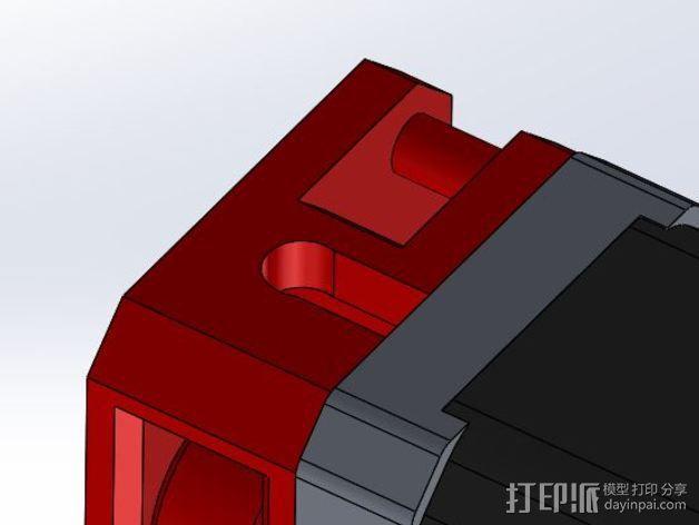 Makibox直线驱动装置 3D模型  图3