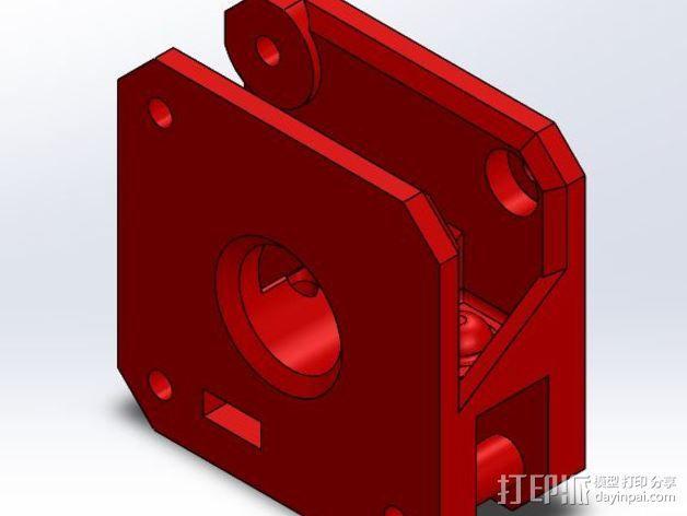 Makibox直线驱动装置 3D模型  图7