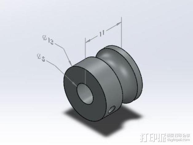 Makibox直线驱动装置 3D模型  图4
