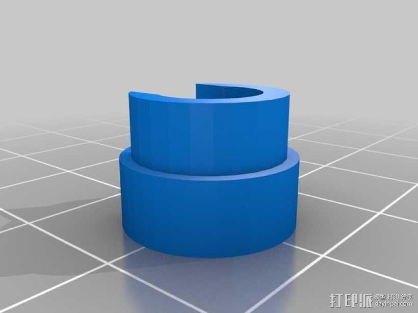 RepRap 3D 打印机喷头 3D模型  图2