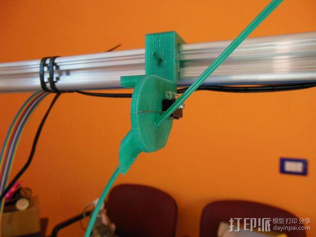 线材传感器 3D模型  图1
