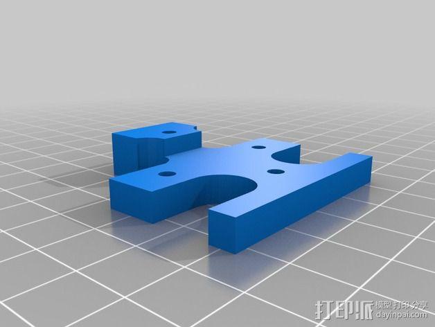 打印机喷嘴架 3D模型  图3