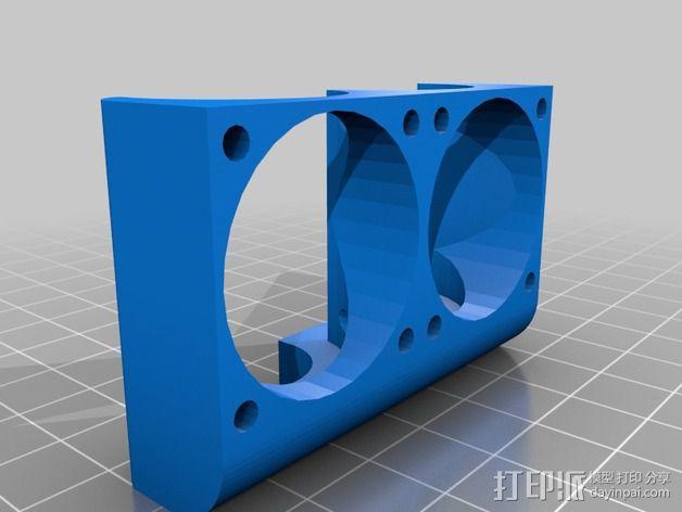 打印机喷嘴架 3D模型  图5