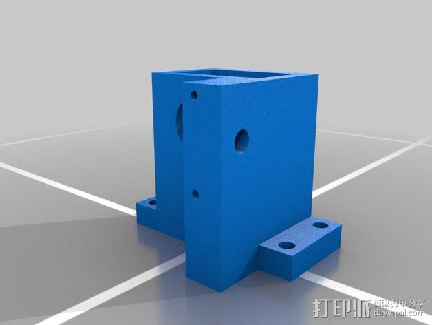 3D线材制粒机 3D模型  图2