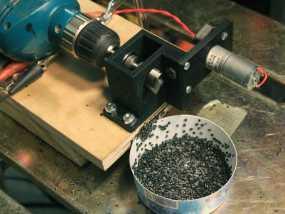 3D线材制粒机 3D模型