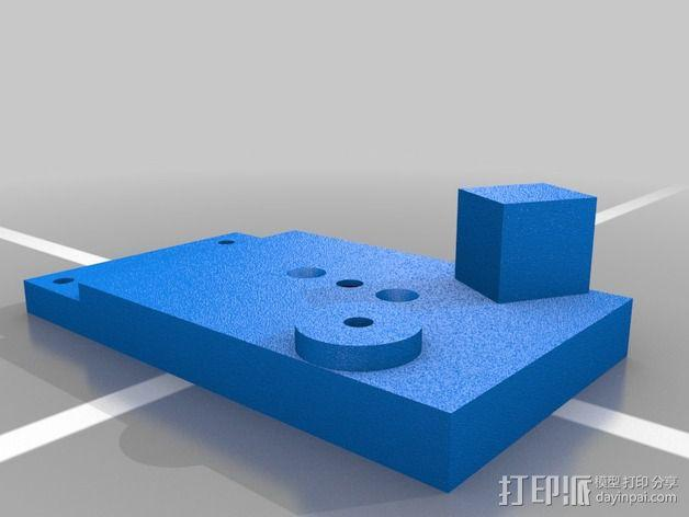 3D线材制粒机 3D模型  图4