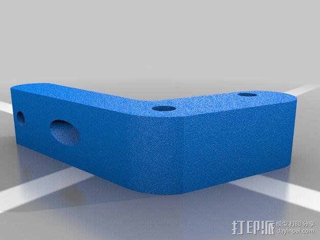 3D线材制粒机 3D模型  图3