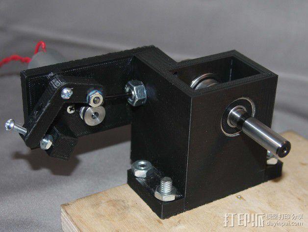 3D线材制粒机 3D模型  图8