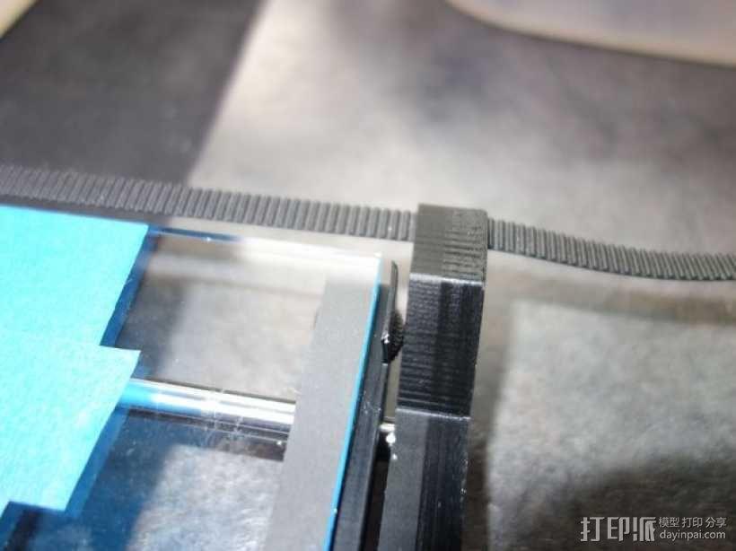 Printrbot打印机X轴部件 3D模型  图5
