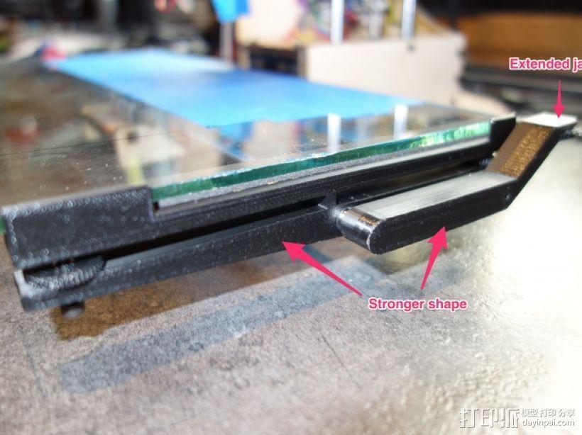 Printrbot打印机X轴部件 3D模型  图3