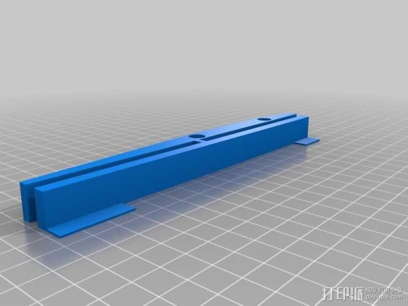 Printrbot打印机X轴部件 3D模型  图8