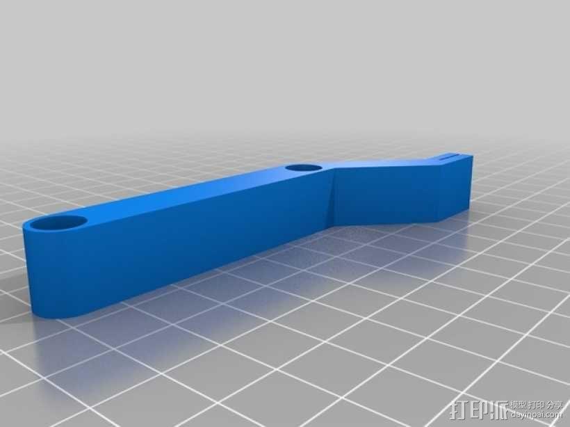 Printrbot打印机X轴部件 3D模型  图9