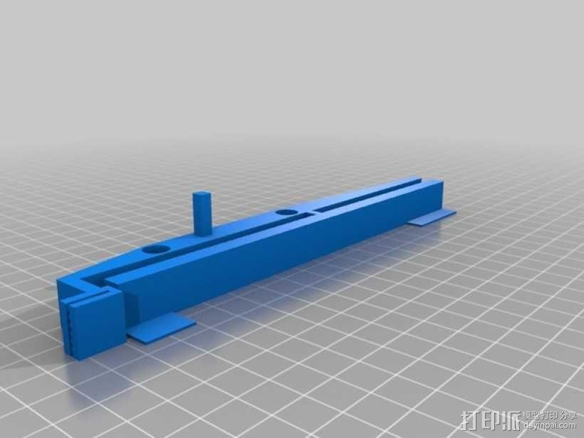Printrbot打印机X轴部件 3D模型  图10