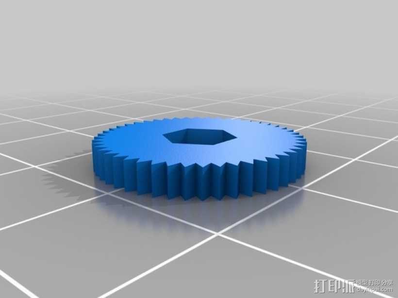 Printrbot打印机X轴部件 3D模型  图11