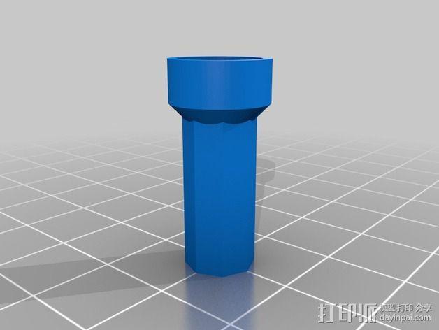 Rostock打印机磁性接合连接器 3D模型  图3