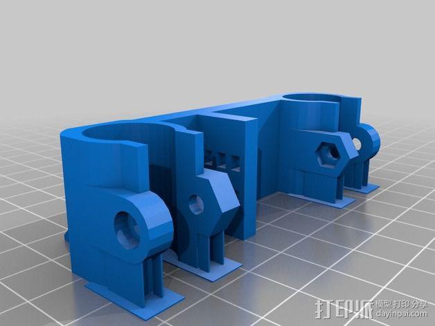 Rostock打印机磁性接合连接器 3D模型  图4