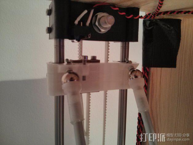 Rostock打印机磁性接合连接器 3D模型  图18