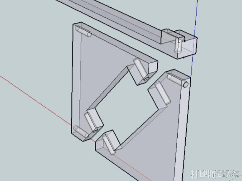 Wanhao Duplicator 4X打印机 3D模型  图9