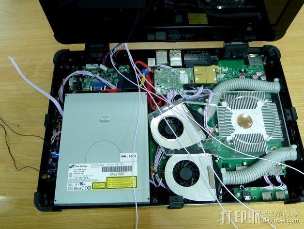 Xbox 360笔记本电脑 3D模型  图5