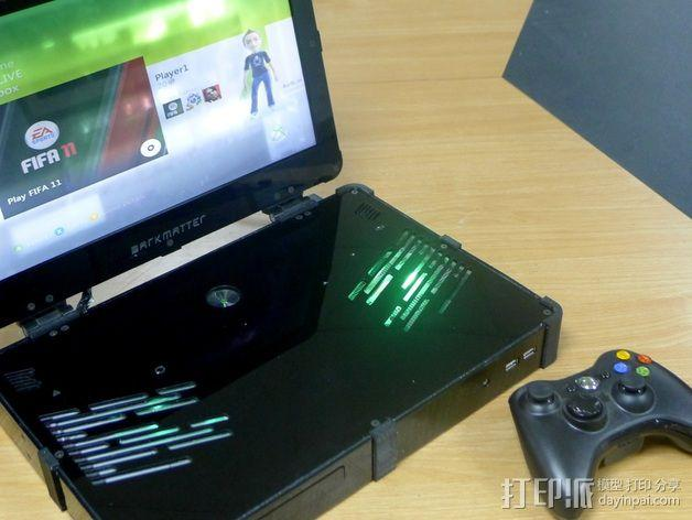 Xbox 360笔记本电脑 3D模型  图13