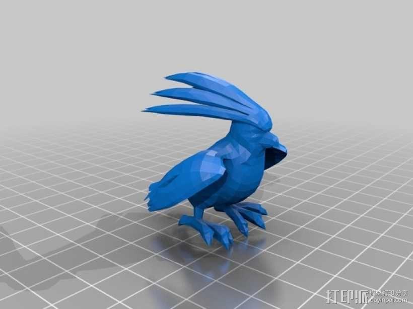 比比鸟 3D模型  图1