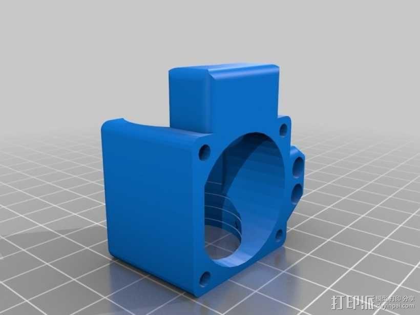 风扇导管 3D模型  图3