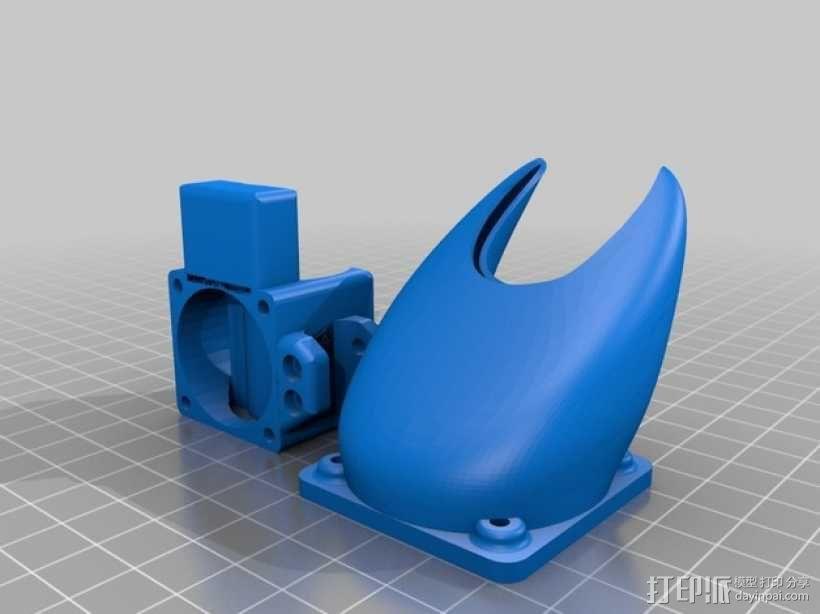 风扇导管 3D模型  图17