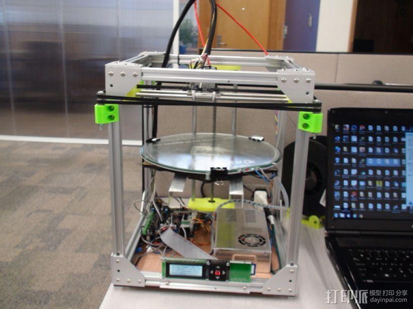 Core XY打印机 3D模型  图1