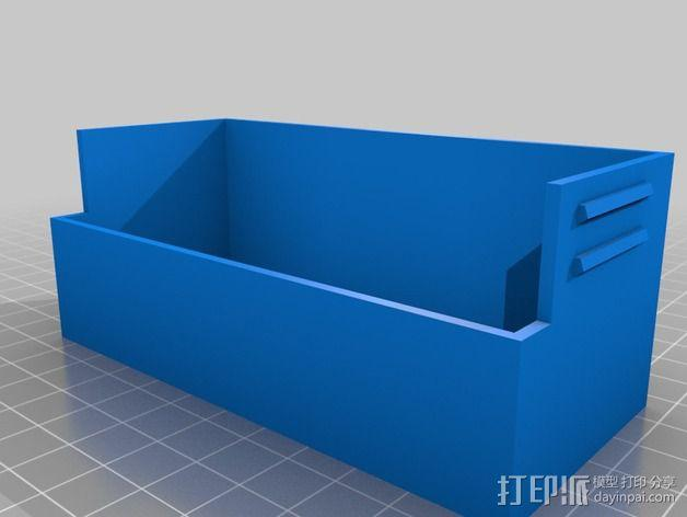 电源开关盒 3D模型  图2