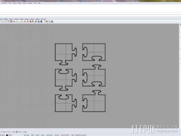 可拼组的工具架 3D模型  图10
