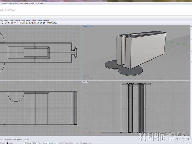 可拼组的工具架 3D模型  图11